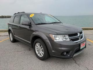 Used 2017 Dodge Journey SXT Low K's Heated Seats Sun Roof Bluetooth Backup Cam Nav for sale in Belle River, ON
