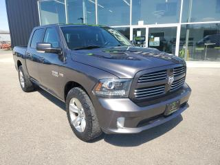 Used 2016 RAM 1500 Sport NAV, Heated/Vented Seats, Sunroof, Trailer Brake!! for sale in Ingersoll, ON
