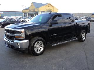 Used 2017 Chevrolet Silverado 1500 LT CrewCab4x4 5.3L 5.5ft Box Nav LeatherHeated for sale in Brantford, ON
