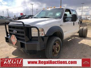 Used 2005 Ford F-550 XL 4D SUPER CREW for sale in Calgary, AB