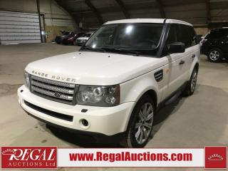 Used 2008 Land Rover Range Rover Sport Supercharged 4D Utility 4WD for sale in Calgary, AB