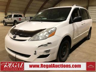 Used 2007 Toyota Sienna LE 4D Wagon FWD for sale in Calgary, AB