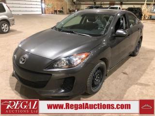 Used 2013 Mazda MAZDA3 GS SKY 4D SEDAN FWD for sale in Calgary, AB