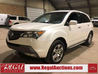 Used 2007 Acura MDX SH 4D Utility AWD for sale in Calgary, AB