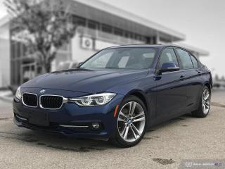 Used 2016 BMW 3 Series 320i xDrive New Tires! Rear Brakes! Sport Line! Tech! Lighting! for sale in Winnipeg, MB