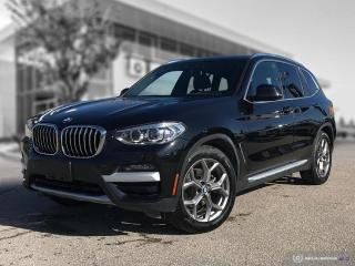 Used 2020 BMW X3 xDrive30i Enhanced! Factory Hitch! Employee Lease! for sale in Winnipeg, MB