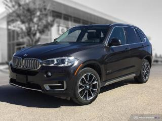 Used 2017 BMW X5 xDrive35i Accident Free! Enhanced! Driving Assistant! for sale in Winnipeg, MB