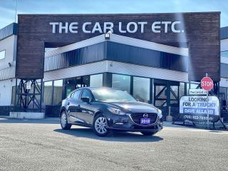 Used 2018 Mazda MAZDA3 GS HEATED SEATS/STEERING WHEEL!! BACK-UP CAMERA!! SPORT MODE!! for sale in Sudbury, ON