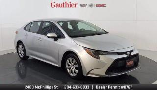 Used 2020 Toyota Corolla LE 4Dr., 1.8L 4Cyl., Auto. Trans., Loaded, Heated Seats, Rear Camera, Bluetooth for sale in Winnipeg, MB