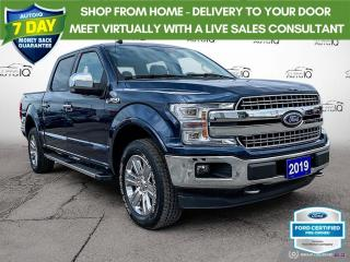 Used 2019 Ford F-150 Lariat 4x4/Leather/Navi/20 Wheels for sale in St Thomas, ON