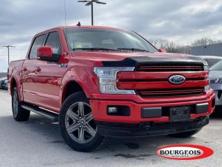 Used 2020 Ford F-150 Lariat LEATHER HEATED SEATS/ STEERING, NAVIGATION for sale in Midland, ON