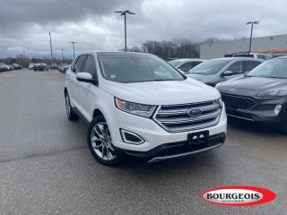 Used 2018 Ford Edge Titanium LEATHER HEATED SEATS/ STEERING, NAVIGATION for sale in Midland, ON