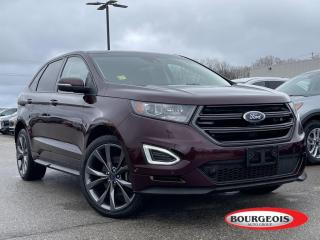 Used 2018 Ford Edge Sport HEATED SEATS, REVERSE CAMERA for sale in Midland, ON