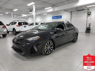 Used 2017 Toyota Corolla SE - CAMERA + TOIT + CUIR + JAMAIS ACCIDENTE !!! for sale in Saint-Eustache, QC