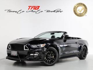 Used 2017 Ford Mustang GT PREMIUM I CONVERTIBLE I NAV I ACTIVE EXHAUST for sale in Vaughan, ON