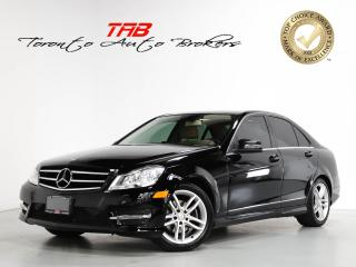 Used 2014 Mercedes-Benz C-Class C250 I SUNROOF I BLIND SPOT I LOCAL VEHICLE for sale in Vaughan, ON