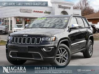 Used 2020 Jeep Grand Cherokee Limited | Panoramic Sunroof for sale in Niagara Falls, ON