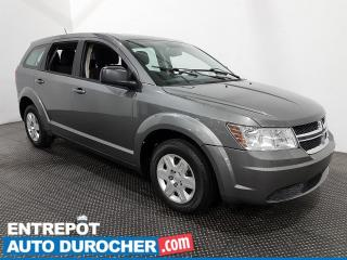 Used 2012 Dodge Journey Canada Value Pkg - 7 PASSAGERS - CLIMATISEUR for sale in Laval, QC