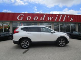 Used 2017 Honda CR-V EXL! SUNROOF! FACTORY REMOTE START! CANE ASSIST! for sale in Aylmer, ON