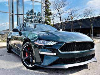 Used 2019 Ford Mustang BULLITT FASTBACK|MANUAL|RECARO SEATS|BREMBO |DIGITAL CLUSTER for sale in Brampton, ON