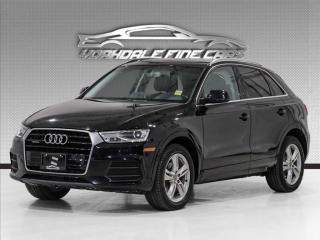 Used 2016 Audi Q3 2.0L T QUATTRO, PROGESSIV, PANOROOF, NO ACCIDENTS for sale in Concord, ON