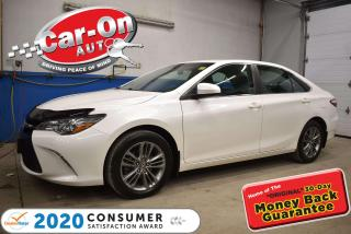 Used 2016 Toyota Camry SE | LEATHER | only 43,000 km for sale in Ottawa, ON