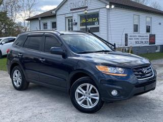 Used 2011 Hyundai Santa Fe No-Accidents LOW KMS AWD V6 Limited Navi Backup Cam Sunroof for sale in Sutton, ON