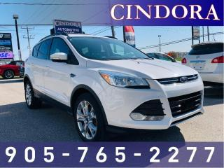 Used 2013 Ford Escape SEL, NAV, Leather, AWD for sale in Caledonia, ON