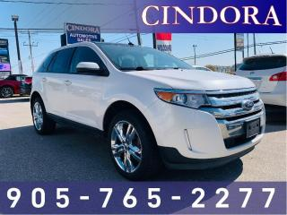 Used 2014 Ford Edge SEL, AWD, NAV, LEATHER, ROOF for sale in Caledonia, ON