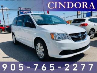 Used 2017 Dodge Grand Caravan SXT, Stow n Go, LOW KM for sale in Caledonia, ON