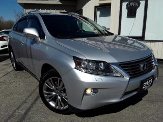 Used 2013 Lexus RX 350 AWD - LEATHER! NAV! BACK-UP CAM! SUNROOF! for sale in Kitchener, ON
