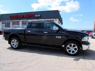 Used 2017 RAM 1500 Laramie Crew Cab 4WD Diesel Navi Camera Certified for sale in Milton, ON