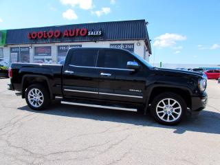 Used 2018 GMC Sierra 1500 Denali Crew Cab 4WD 5.3L V8 Navi Camera Certified for sale in Milton, ON