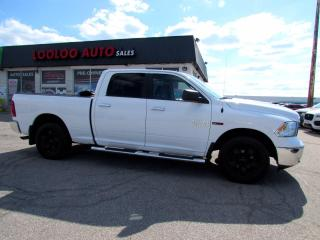 Used 2017 RAM 1500 SLT Crew Cab 4WD Eco Diesel Bluetooth Certified for sale in Milton, ON