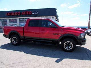 Used 2016 RAM 1500 Rebel Crew Cab 4WD Hemi 5.7L No Accident Camera Certified for sale in Milton, ON