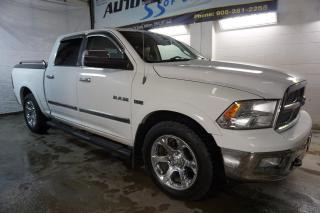 Used 2010 Dodge Ram 1500 LARAMIE HEMI NAVI CAMERA CERTIFIED 2YR WARRANTY SUNROOF BLUETOOTH LEATHER for sale in Milton, ON