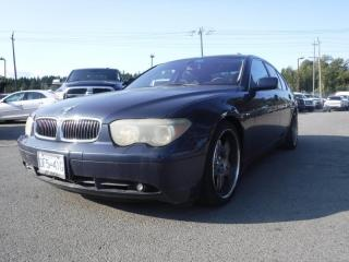 Used 2002 BMW 7 Series 745i for sale in Burnaby, BC