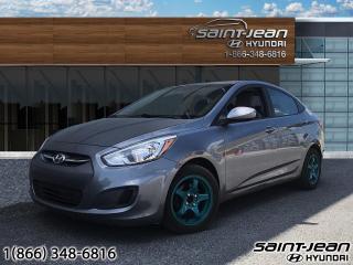 Used 2016 Hyundai Accent LE for sale in Saint-Jean-sur-Richelieu, QC