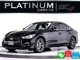 Used 2014 Infiniti Q50 SPORT, V6 328HP, HEATED, NAV, CAM, BT for sale in Toronto, ON