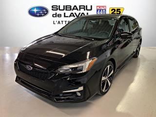 Used 2018 Subaru Impreza Sport-tech Hatch Eyesight *Nav, Dét. ang for sale in Laval, QC