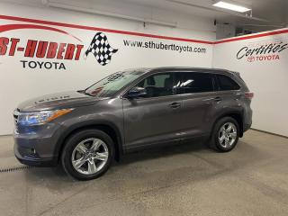Used 2016 Toyota Highlander AWD 4dr Limited, TOIT PANO, NAV, GPS for sale in St-Hubert, QC