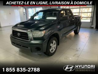 Used 2008 Toyota Tundra SR5 V8 4X4 + GARANTIE + CREW CAB + A/C + for sale in Drummondville, QC