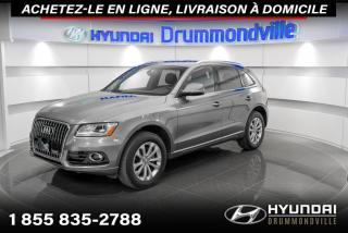 Used 2017 Audi Q5 2.0T PROGRESSIV + GARANTIE + NAVi + WOW for sale in Drummondville, QC