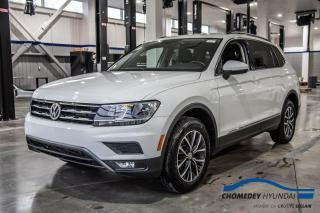 Used 2019 Volkswagen Tiguan COMFORTLINE 4MOTION+APPLE CARPLAY+CUIR CHAUFFANT for sale in Laval, QC