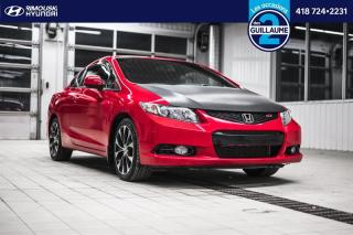 Used 2013 Honda Civic Si chez Rimouki Hyundai for sale in Rimouski, QC