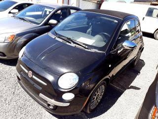 Used 2013 Fiat 500 2dr Conv Lounge for sale in Beauport, QC