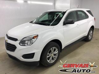 Used 2017 Chevrolet Equinox LS AWD MAGS BLUETOOTH CAMÉRA *Bas Kilométrage* for sale in Trois-Rivières, QC