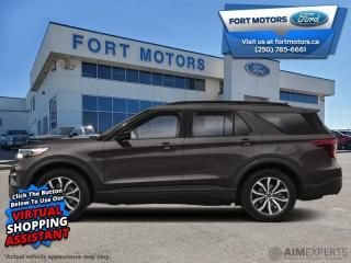 Used 2020 Ford Explorer ST  - Leather Seats -  Cooled Seats - $376 B/W for sale in Fort St John, BC