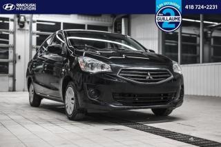 Used 2017 Mitsubishi Mirage ES chez Rimouski Hyundai for sale in Rimouski, QC
