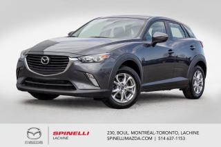 Used 2017 Mazda CX-3 GS AWD Sieges Chauffants Camera de Recule 2017 Mazda CX-3 GS AWD for sale in Lachine, QC